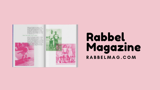 one of the pages in the feminists teens magazine rabbel mag